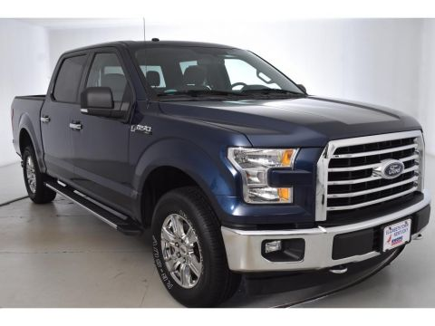 Pre-Owned 2017 Ford F-150 XLT 4WD 4 Door Cab; Styleside; Super Crew
